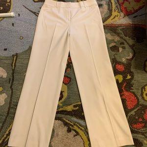 "AnnTaylor LOFT WinterWhite ""Laura"" Dress Pants | 8"